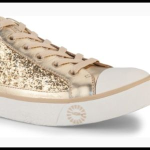 UGG GOLD SPARKLE SNEAKERS ✨